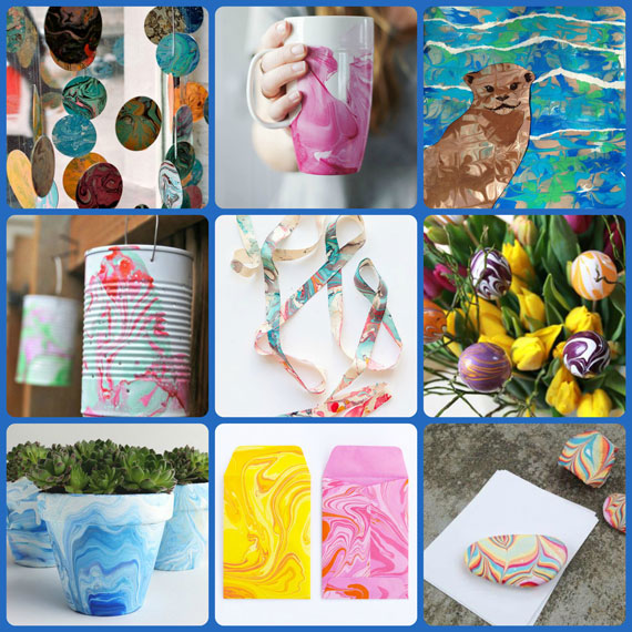 The Marbling Trends in Crafts for Craft Warehouse