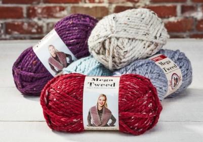 Mega Tweed Yarn available at Craft Warehouse