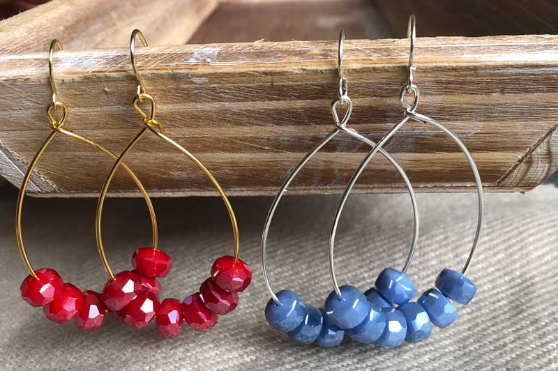 Memory Wire Hoop Earrings @ All Locations | Meridian | Idaho | United States