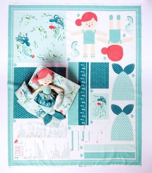 Mermaid Cut and Sew Panel at Craft Warehouse