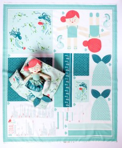 Mermaid Cut and Sew Panel at Craft Warehouse