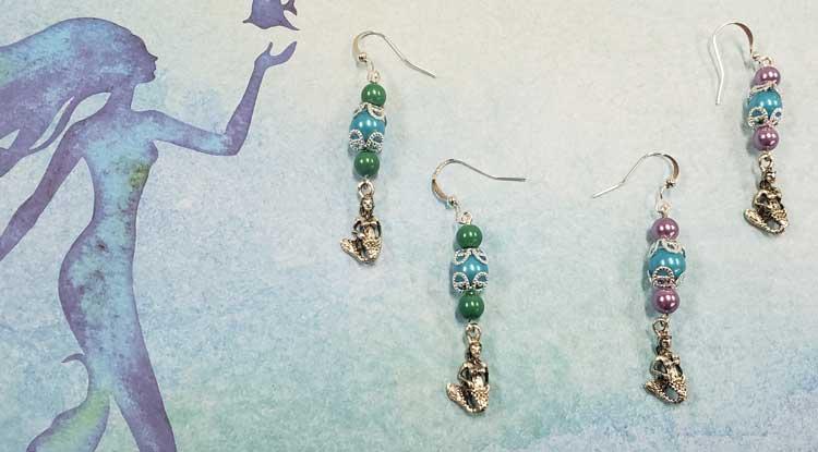 Mermaid Earrings @ Beaverton Location | Meridian | Idaho | United States