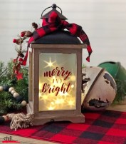 Decorate a Lantern for the Holidays
