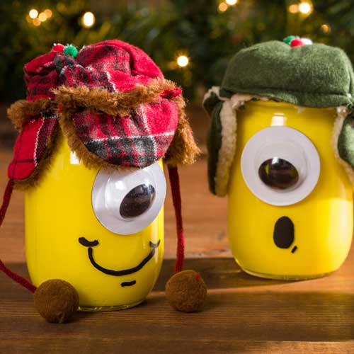 Minion Mason Jars