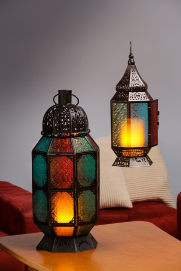Colorful Moroccan Lanterns