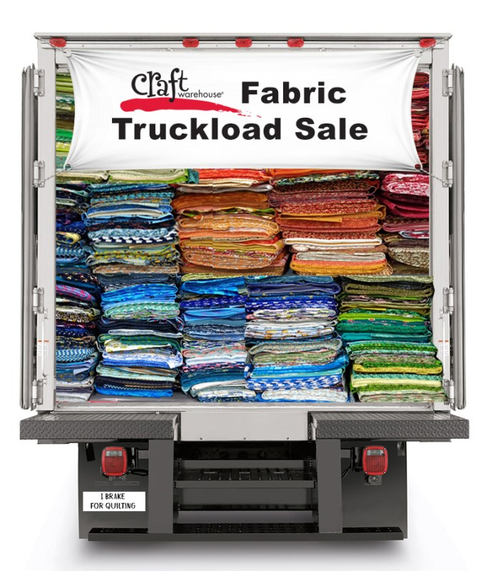Fabric Truckload Sale