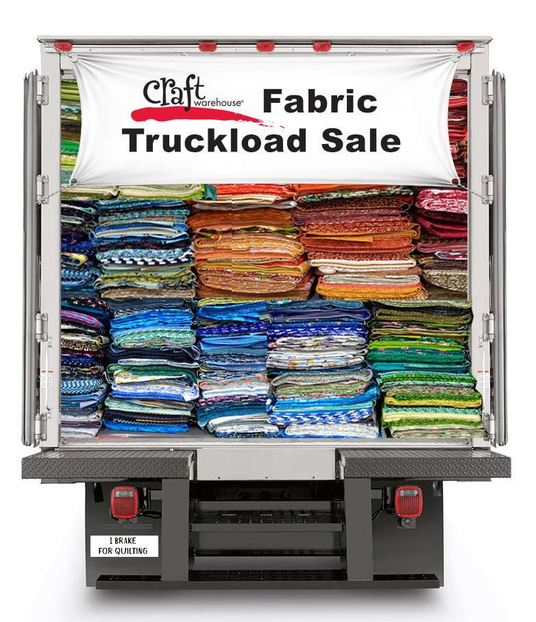 Craft Warehouse Fabric Truckload Sale