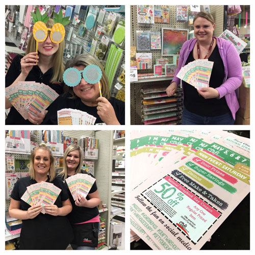 National Scrapbook Day Event at Craft Warehouse