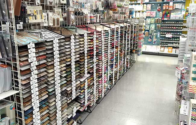Paper craft department Medford