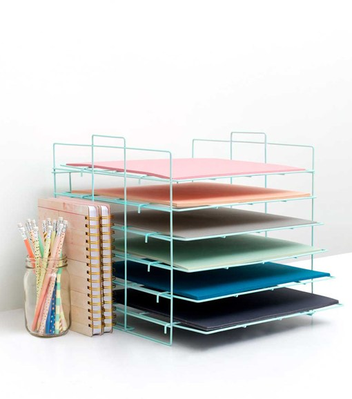12x12 Paper Shelf Desktop Organizer available at Craft Warehouse