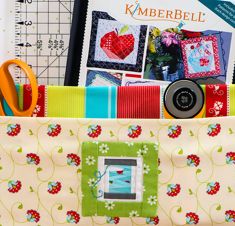 Paper Piecing Sample from KimberBell Book at Craft Warehouse