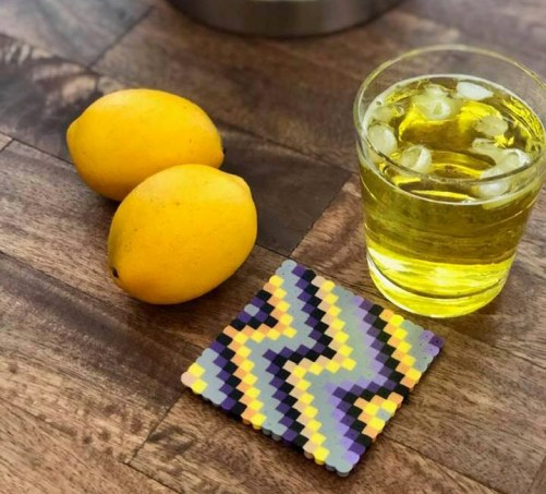 Make this Perler Coasters
