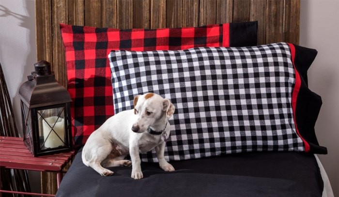 Buffalo Check Pillowcase Kit from Craft Warehouse