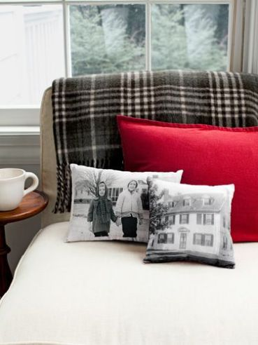 photo pillows from countryliving.com