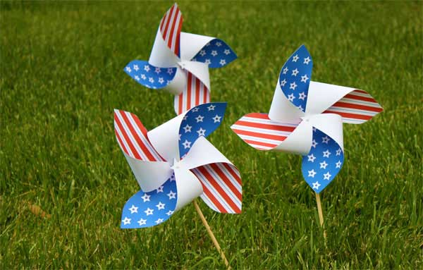 Patriotic Pinwheel @ Beaverton Location | Beaverton | Oregon | United States
