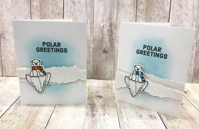 Polar Greetings Card Make & Take