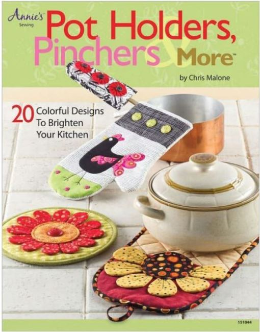 Make these Pot Holders and Pinchers from the best selling book.
