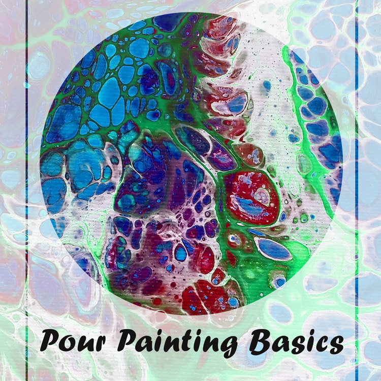 How to Pour Paint from Craft Warehouse