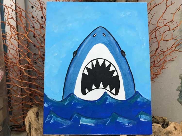 Shark Painting @ Vancouver Location   Gresham   Oregon   United States