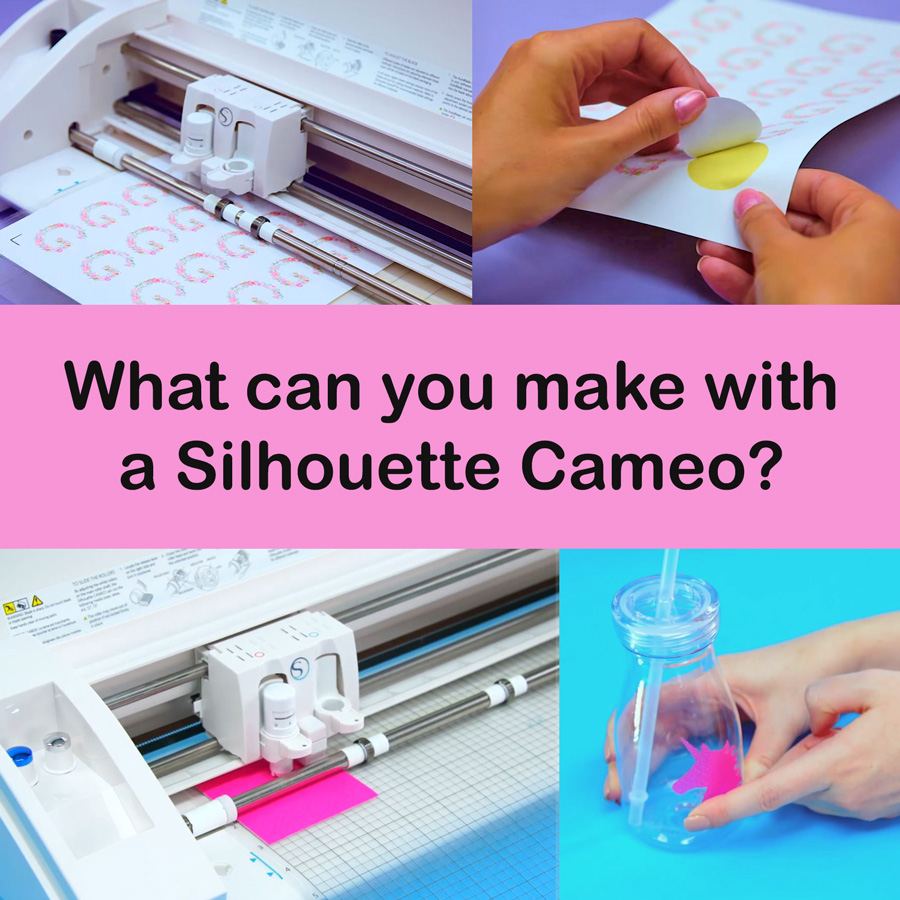 What can you make with your Silhouette Cameo
