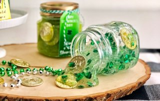 Recipe for St Patricks Day Slime