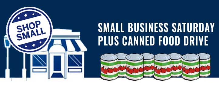 Small Business Saturday Plus Canned Food Drive @ All Locations | Vancouver | Washington | United States