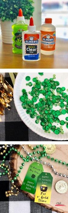 Make St Patricks Day Slime