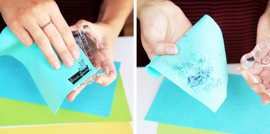 Cleaning your Stamps