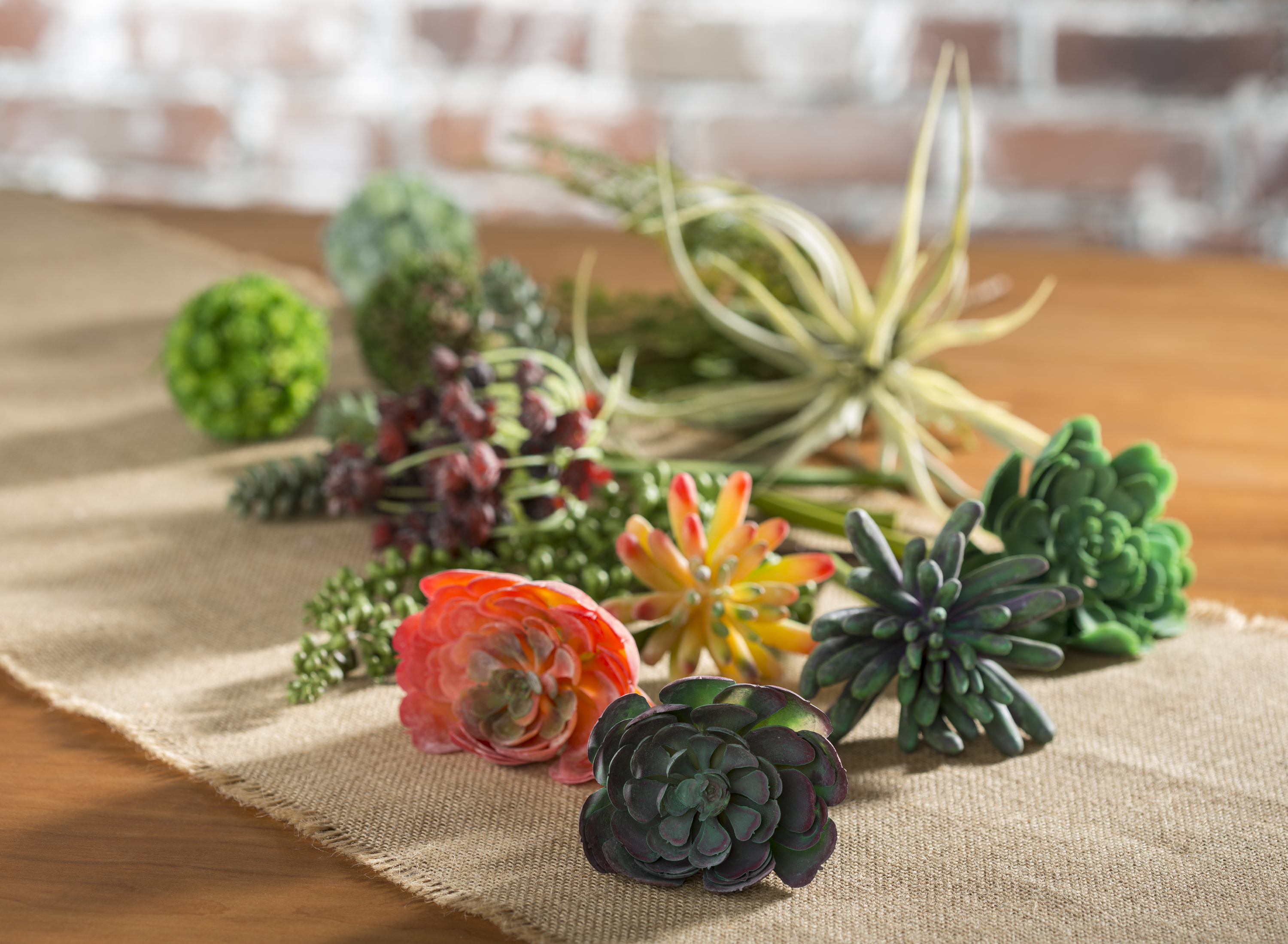 Faux Succulents at Craft Warehouse