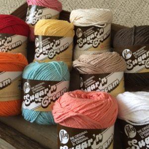 sugar 'n cream yarn