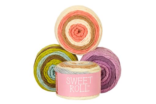 Sweet Roll Gradient Yarns at Craft Warehouse