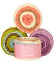 Sweet Roll Gradient Yarns