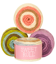 Sweet Roll Gradient Yarns