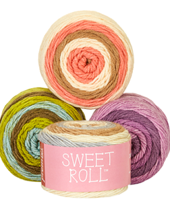 Sweet Roll Gradient Yarns at Craft Warehouse