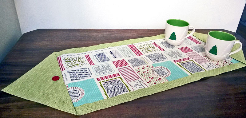 How to make a table runner in ten minutes