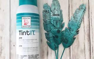 10 Ways to Use TintIT Spray from Craft Warehouse