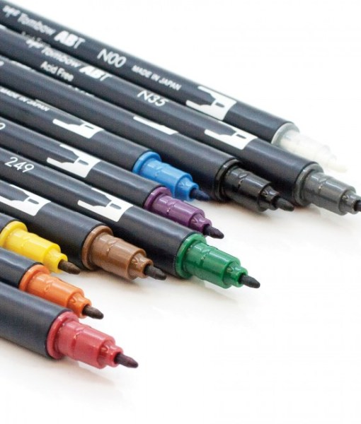Learn more about Tombow Dual Brush Markers at Craft Warehouse