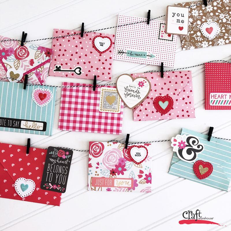 Valentine's Day Happy Mail Banner