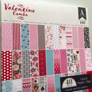 Authentique Valentine Combo paper pack scrapbook