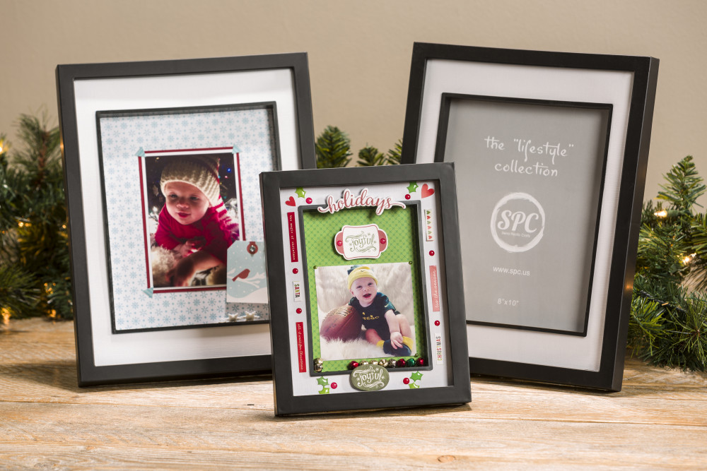 Christmas DIY Shadow Box Frame with Matting | Craft Warehouse