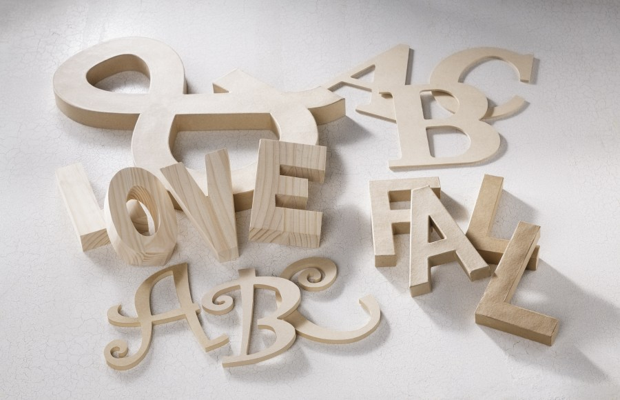 Wood Letters   Craft Warehouse Unfinished letters for all kinds of projects available at Craft Warehouse