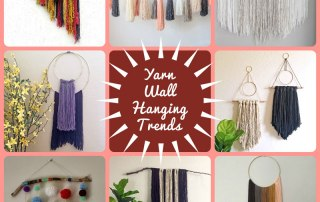 The Yarn Wall Hanging Trend at Craft Warehouse