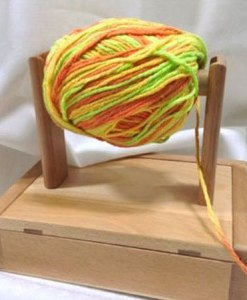 Natural Wood Yarn winders