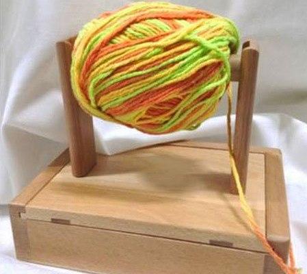 Natural Wood Yarn winders