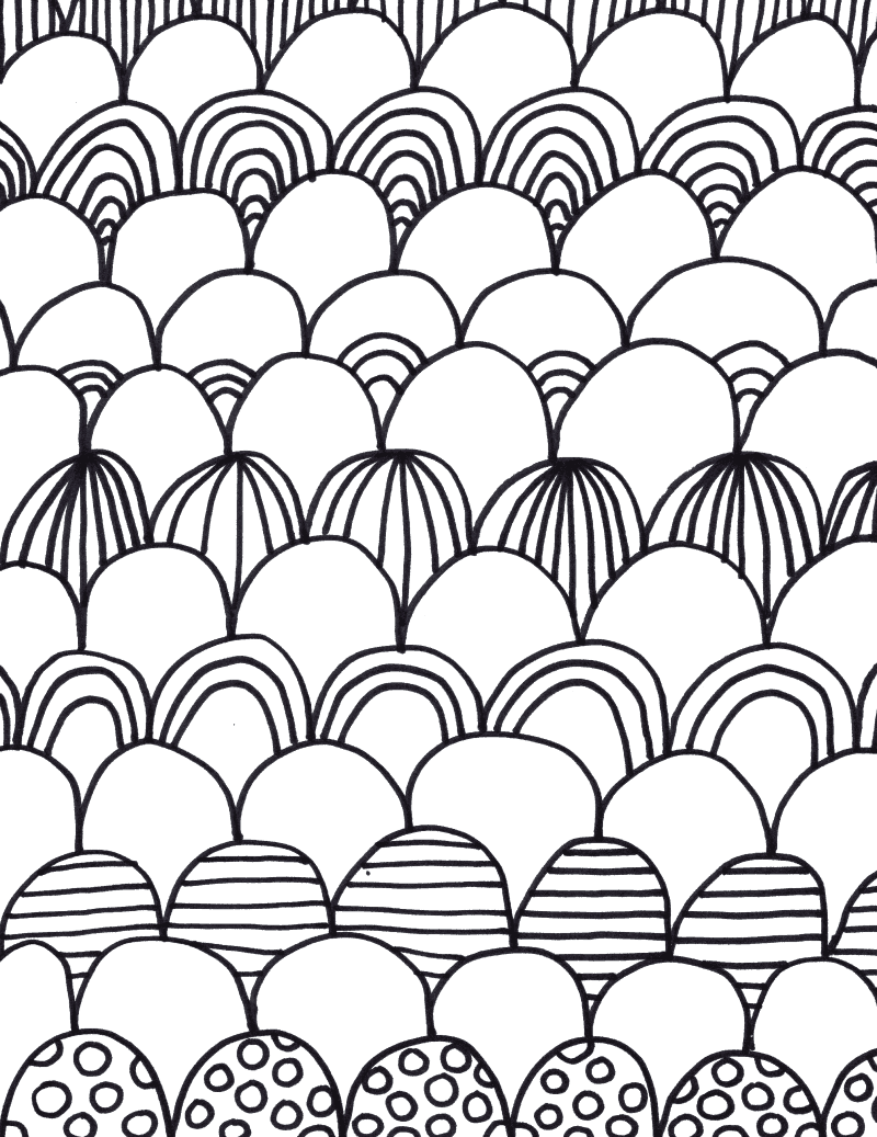 Tons Of Coloring Pages For Adults Craftwhack