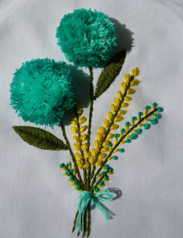 pompom flower