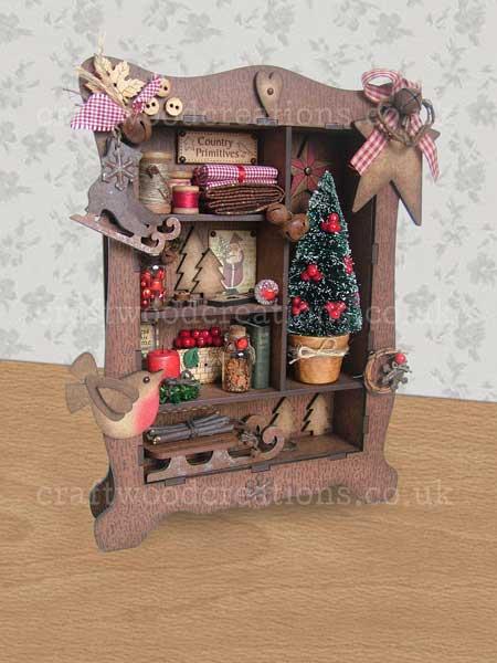 Mdf Cabinet Of Christmas Curiosities