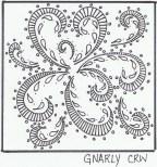 Gnarly Zentangle Pattern