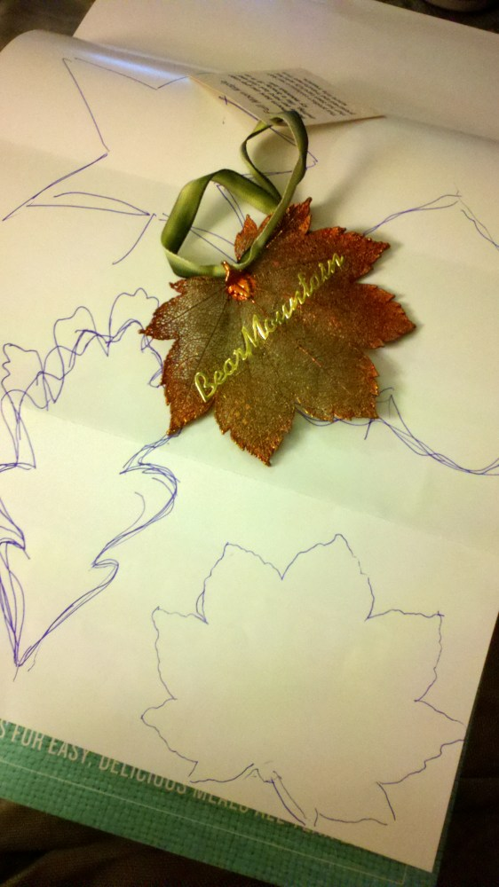 Fall Felt Leaves (2/5)