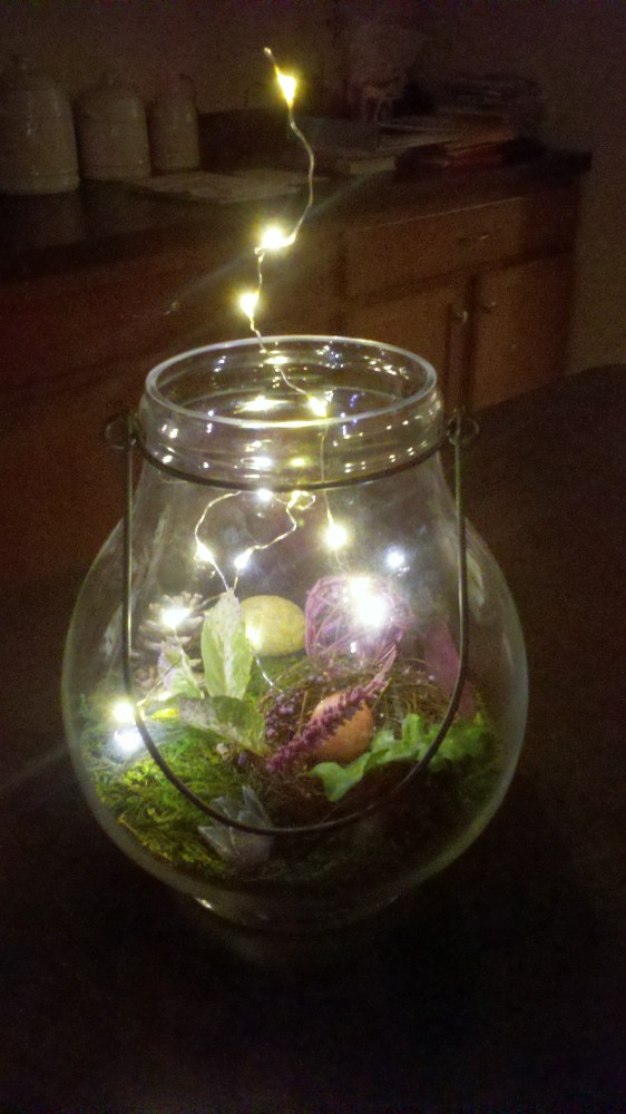 Wedding Details: Firefly Forest Centerpieces (3/6)